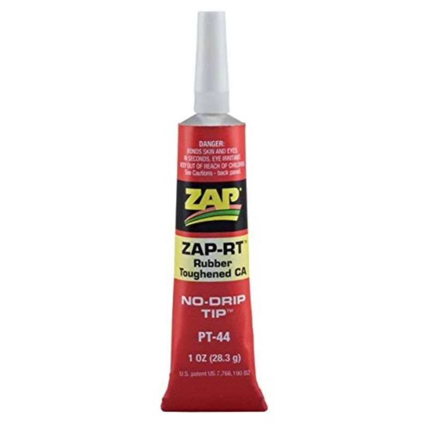 ZAP RT Rubber Toughened Adhesive - 1oz, Clear