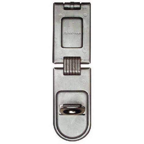 Master Lock Single Hinge Security Hasp - 6 1/4""