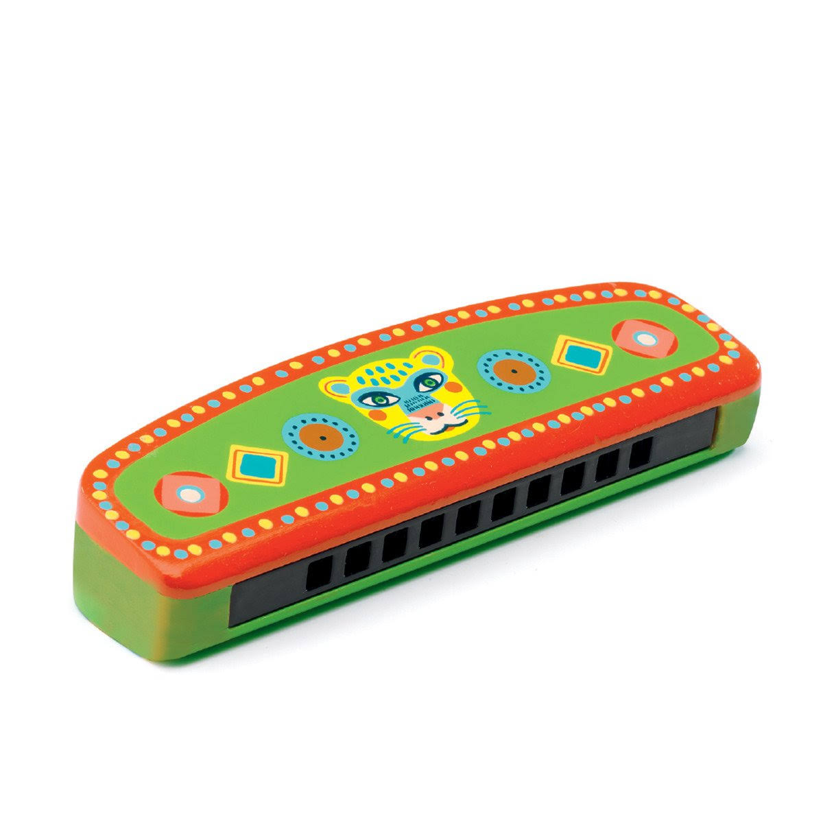 Djeco Animambo Wooden Harmonica Toy