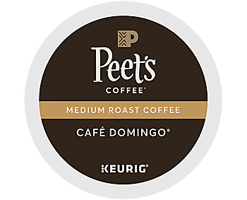 Peet's Cafe Domingo K-Cups - Medium, 22ct