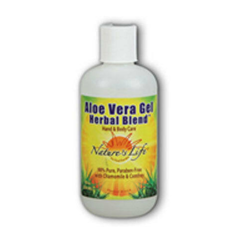 Nature's Life Herbal Blend Aloe Vera Gel - 8oz