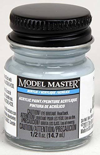 Testors Model Master Acrylic Paint - Light Grey, 14.7ml