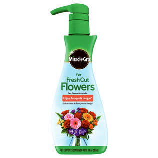 Miracle-Gro Fresh Cut Flower Liquid Plant Food