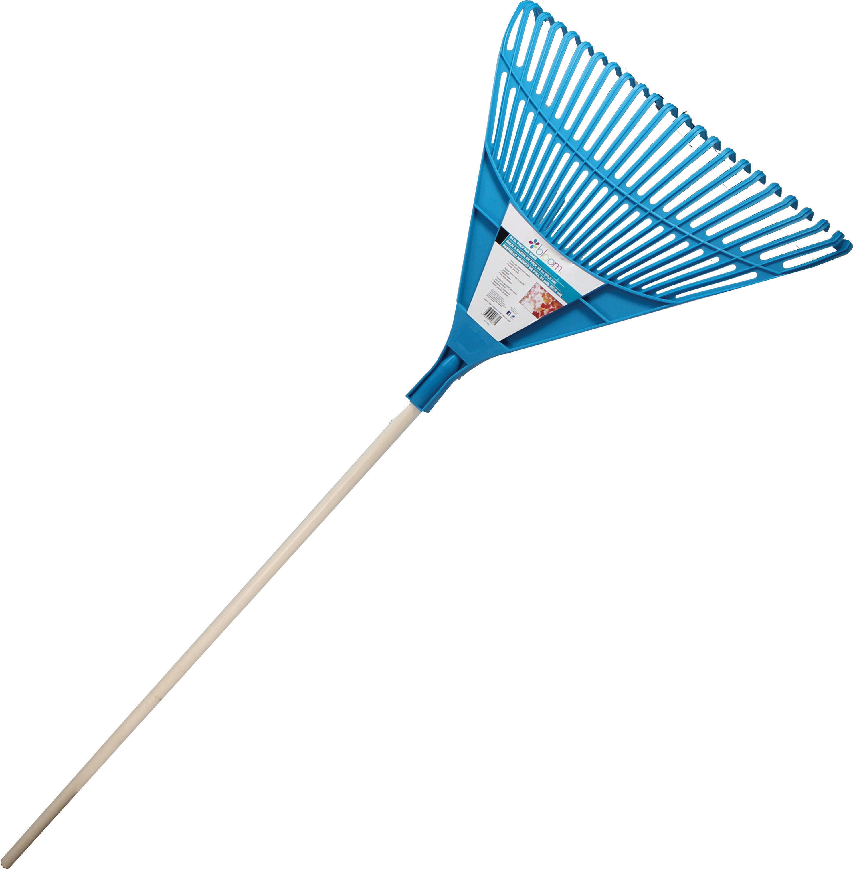 Bond Assorted Bloom Poly Fan Rake 24 inch