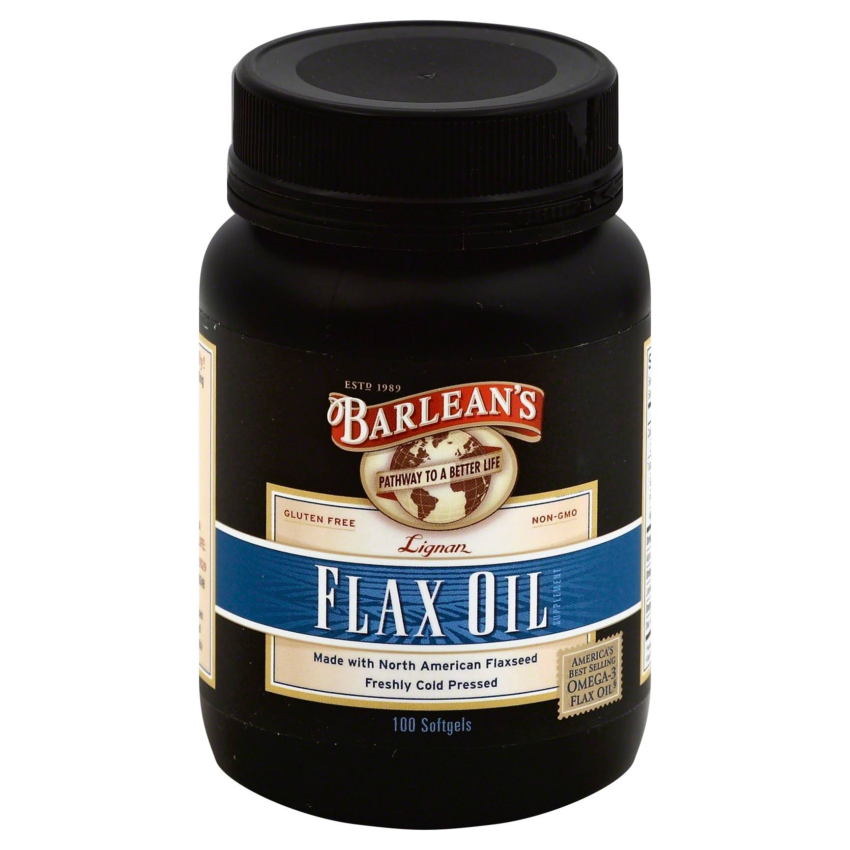 Barlean's Organic Flax Oil Softgels