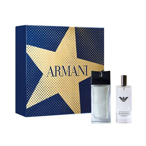 Emporio Armani - Diamonds for Men Eau De Toilette Spray 50ml Gift Set