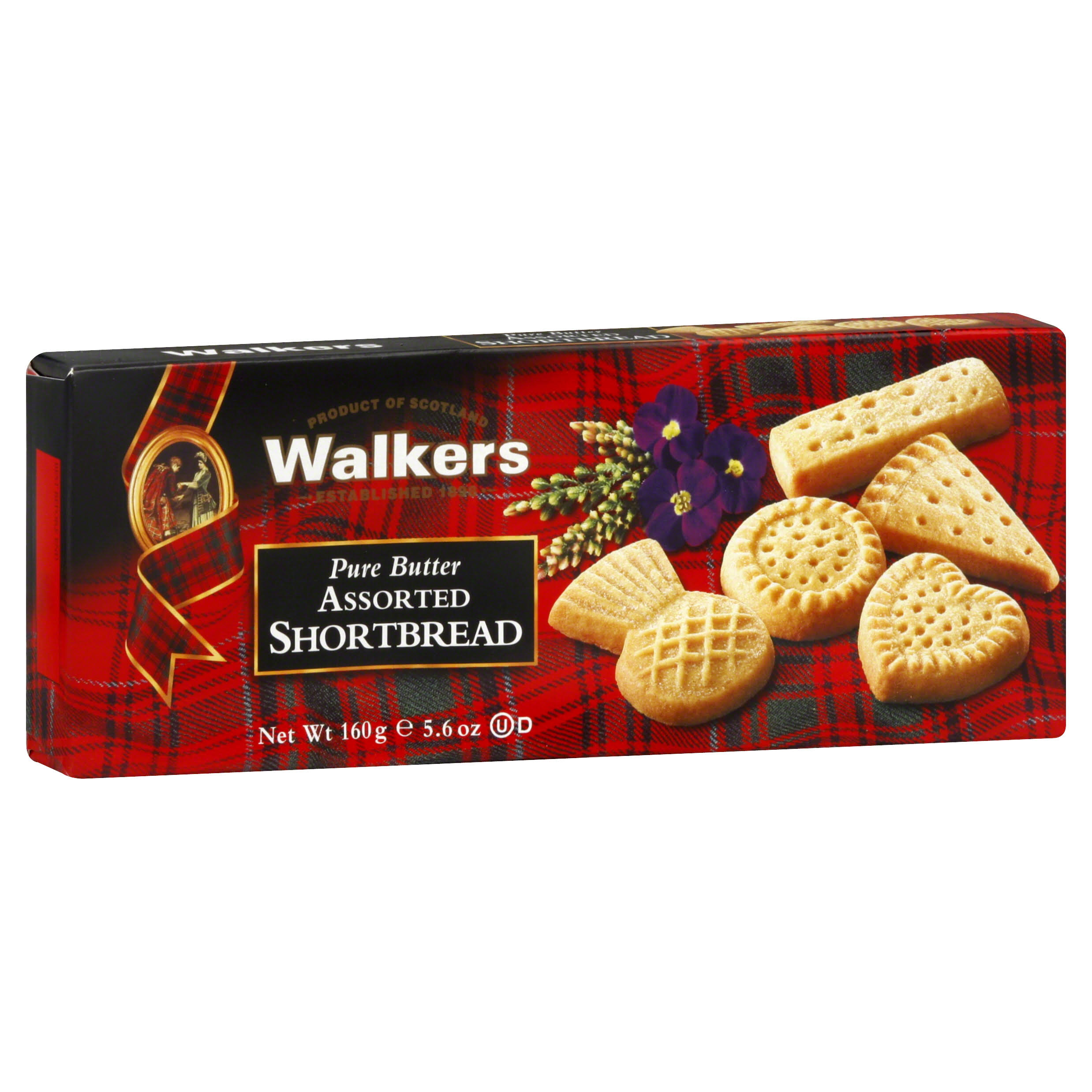 Walkers Pure Butter Shortbread - Assorted, 5.6oz