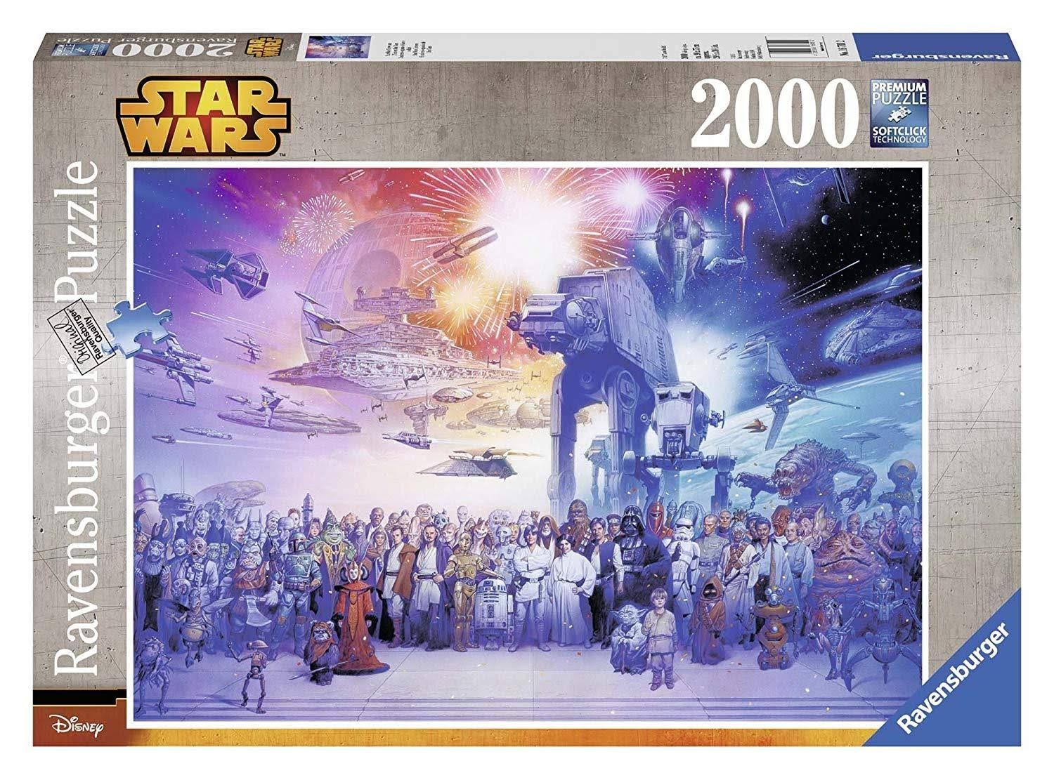 Ravensburger Star Wars Universe Adult Puzzles - 2000ct