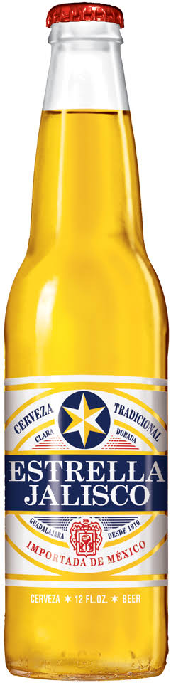 Estrella Jalisco Beer, 12 Fl. Oz. Bottle