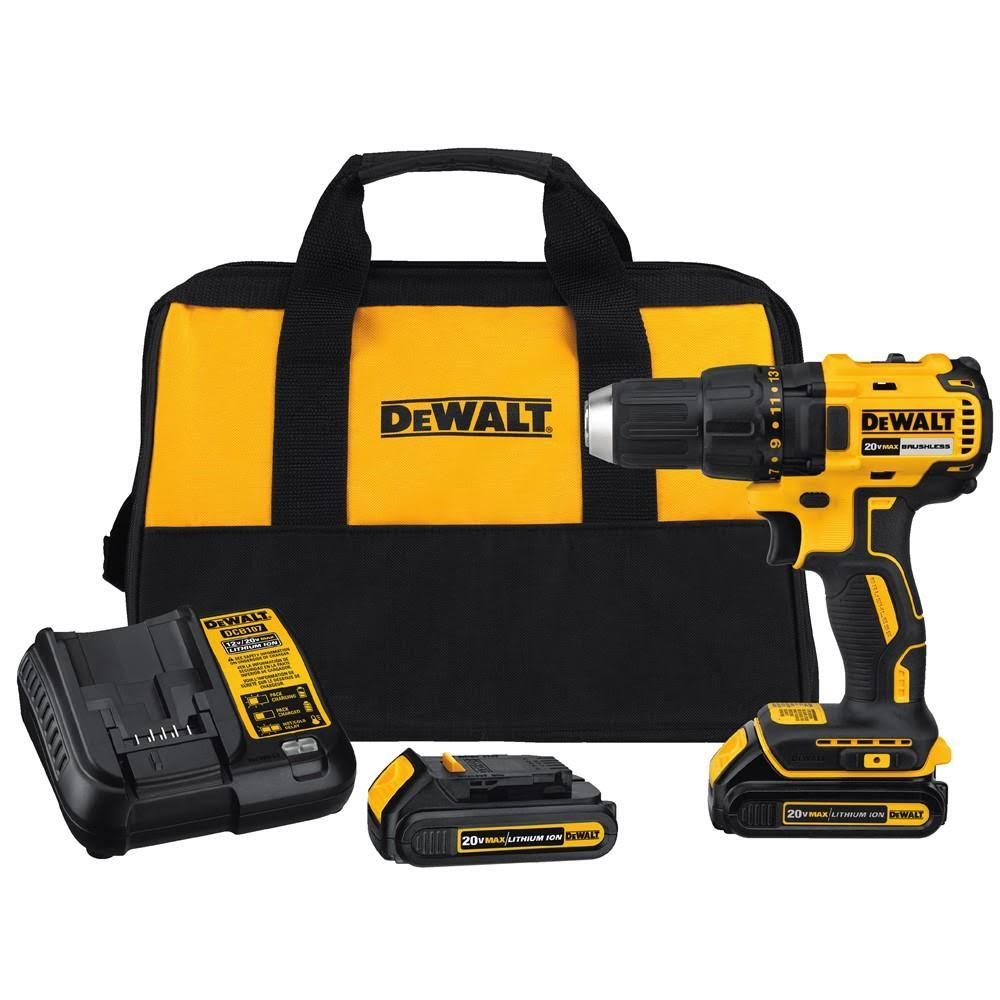 Dewalt DCD777C2 Brushless Compact Drill Driver - 20v Max Lithium-Ion