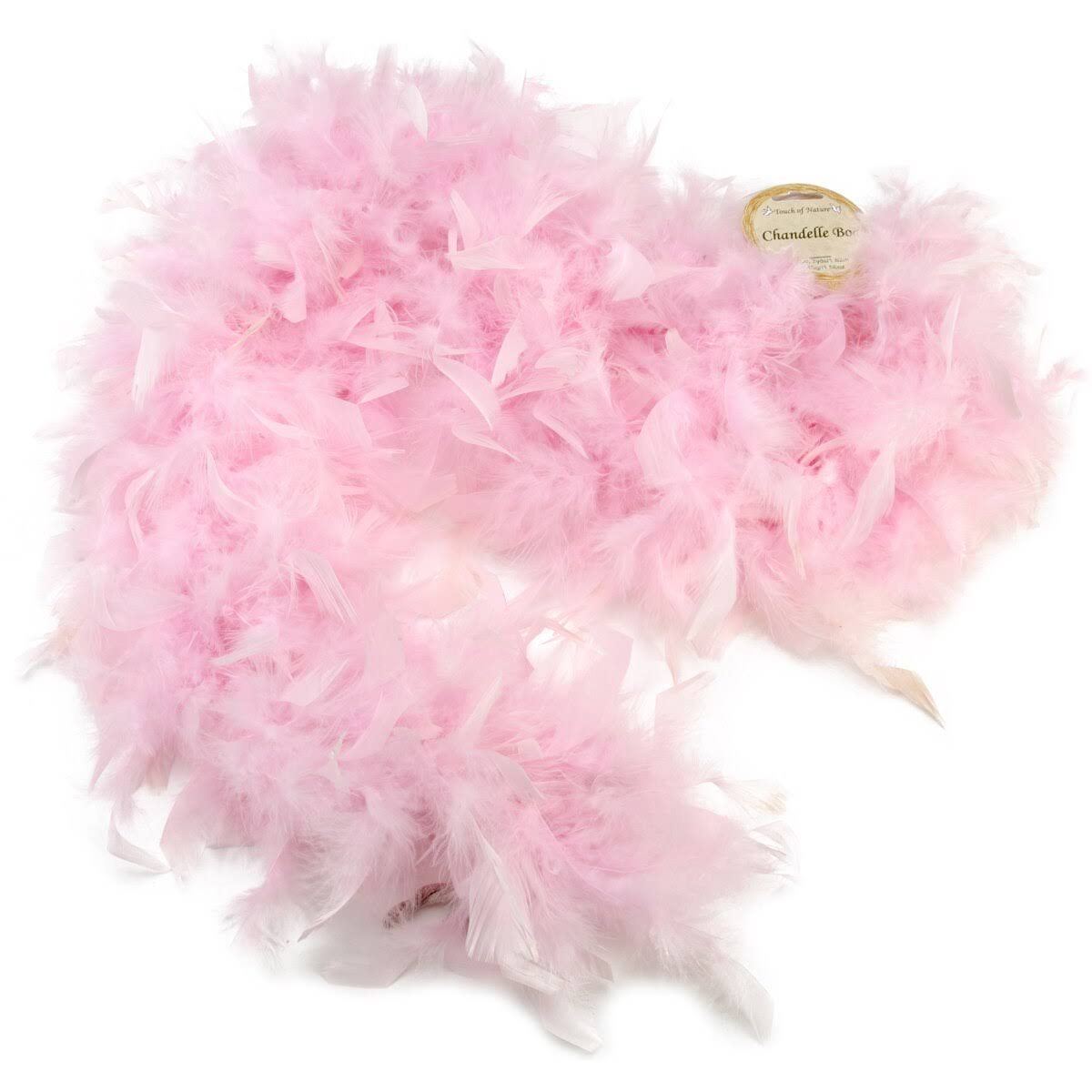 Chandelle Feather Boa - Light Pink