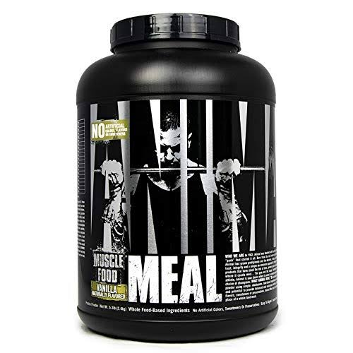 Animal Meal Muscle Food, Vanilla - 5.3 lb
