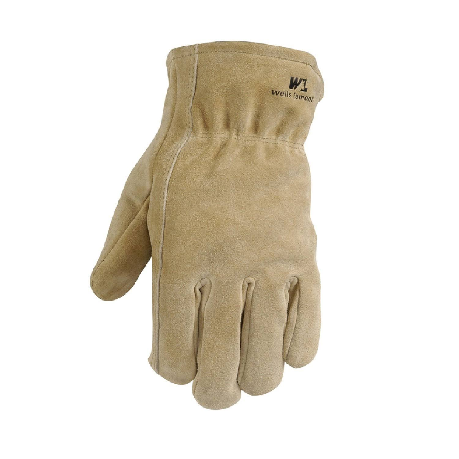 Leather Winter Work Gloves - Suede Cowhide
