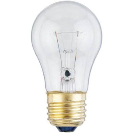Westinghouse Lighting Clear Appliance Light Bulb - 40w