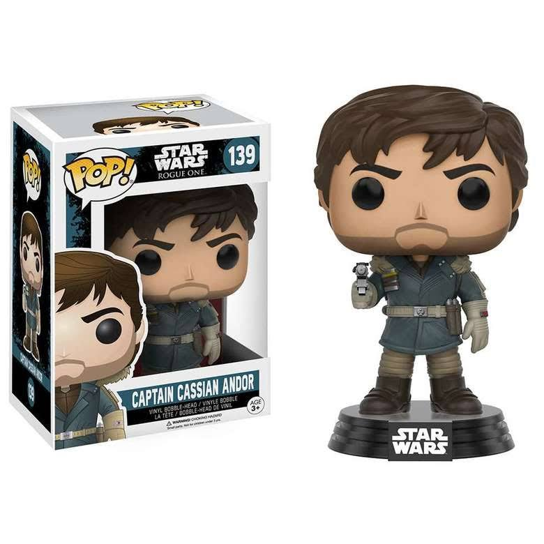 Funko Pop! Star Wars: Rogue One Vinyl Figure - Captain Cassian Andor