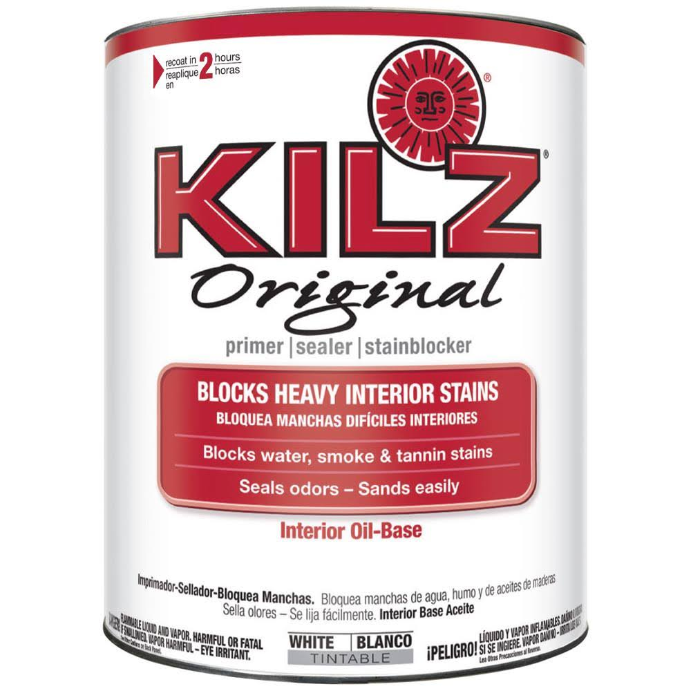 Kilz Original Interior Oil-Based Sealer, Primer & Stainblocker - 1qt
