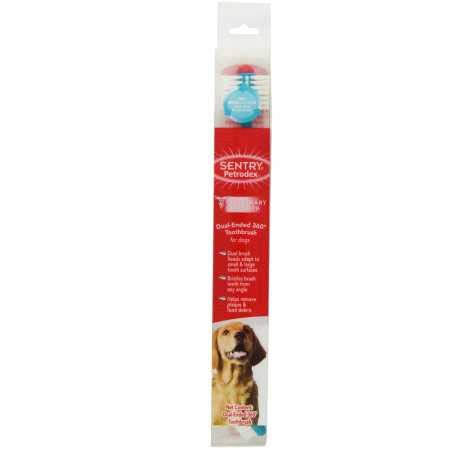 Sergeants Sentry Petrodex 360 Degree Toothbrush for Dogs