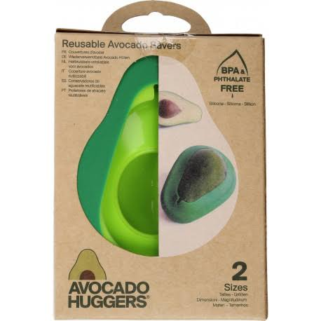 Food Huggers Food Huggers Silicone Avocado Savers - Green, 2pcs