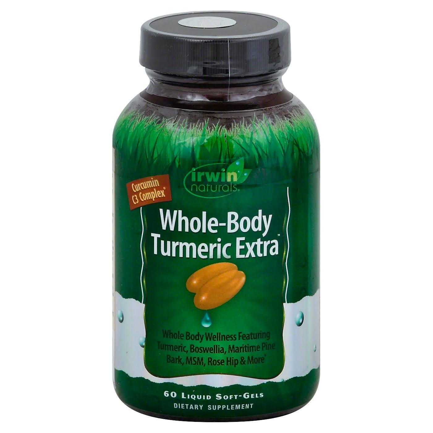 Irwin Whole Body Turmeric Extra - 60 Softgels