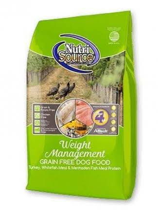 NutriSource Grain-Free Weight Management Dry Dog Food 5 lbs