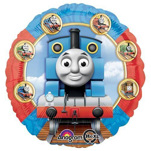 Thomas & Friends Circle Shaped Foil Party Balloon - 18""