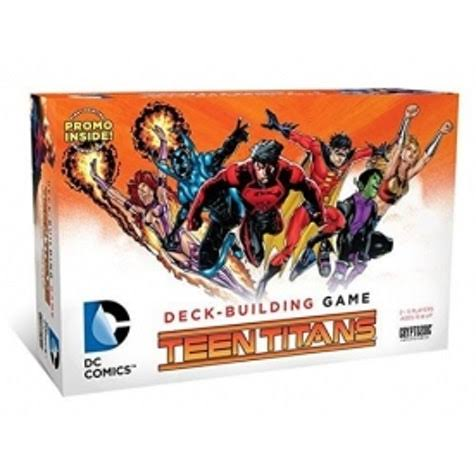DC Comics Teen Titans Deck-Building Card Game