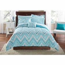 Lavender And Grey Bedding by Bed In A Bag Sets Walmart Com