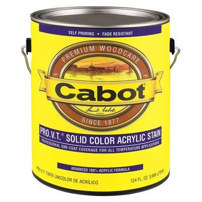 Cabot 800 Self-Priming Water Based Solid Color Siding Stain - Brown