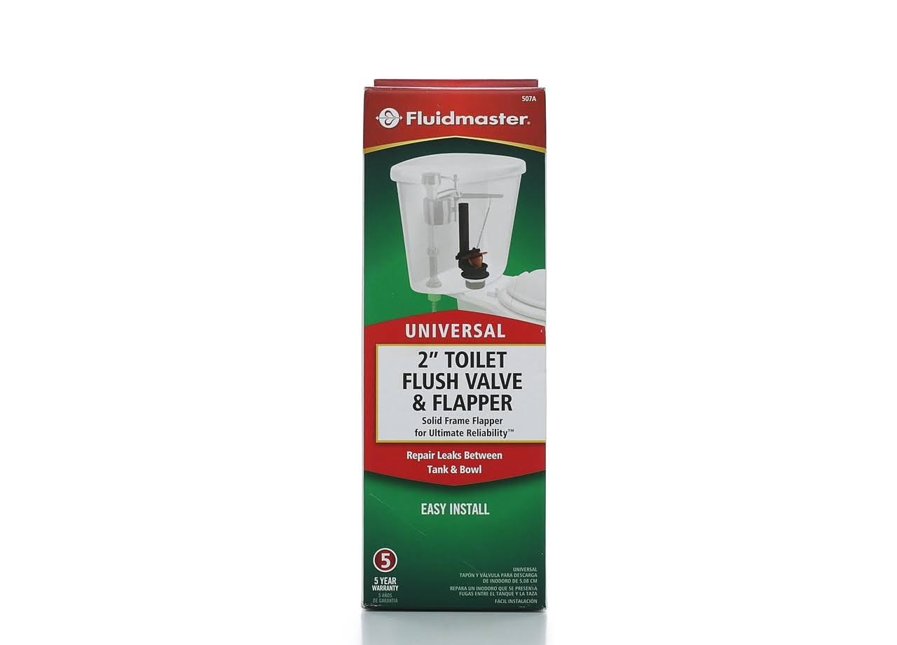 Fluidmaster Toilet Tank Flush Valve - with Bulls Eye Super Flapper