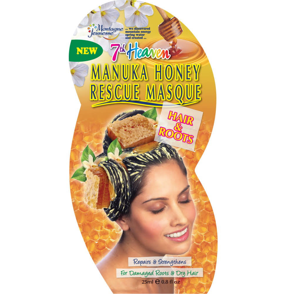 7th Heaven Manuka Honey Rescue Hair Mask - 25ml