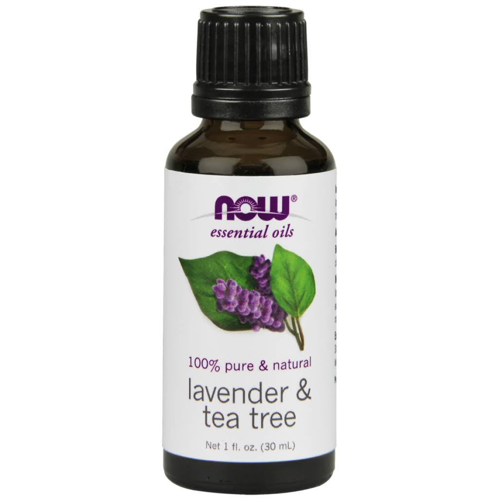 Now Foods Essential Oil - Lavender and Tea Tree, 1oz