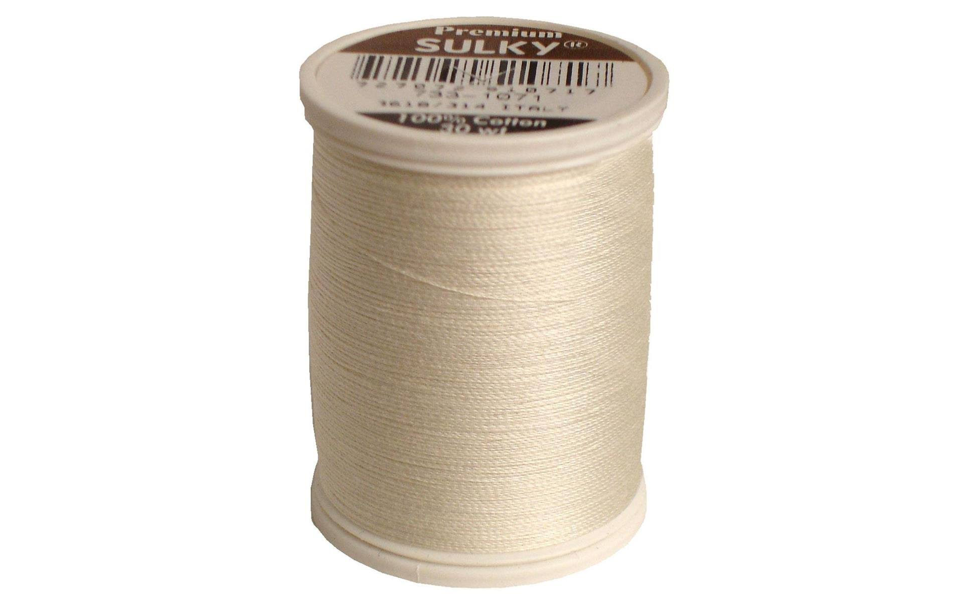 Sulky Cotton Thread Spools - 500 Yards, Off White