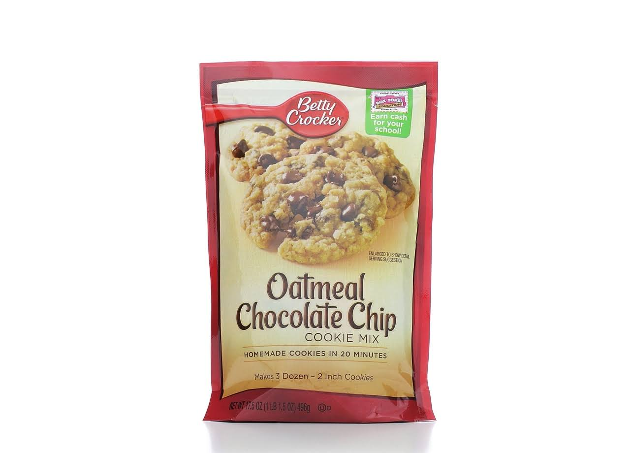 Betty Crocker Cookie Mix - Oatmeal Chocolate Chip, 17.5oz