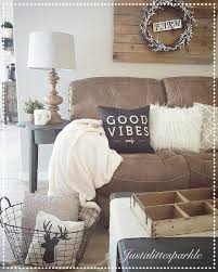 Brown Living Room Decorations by Rustic Living Room Cozy Pallets Our Home Pinterest