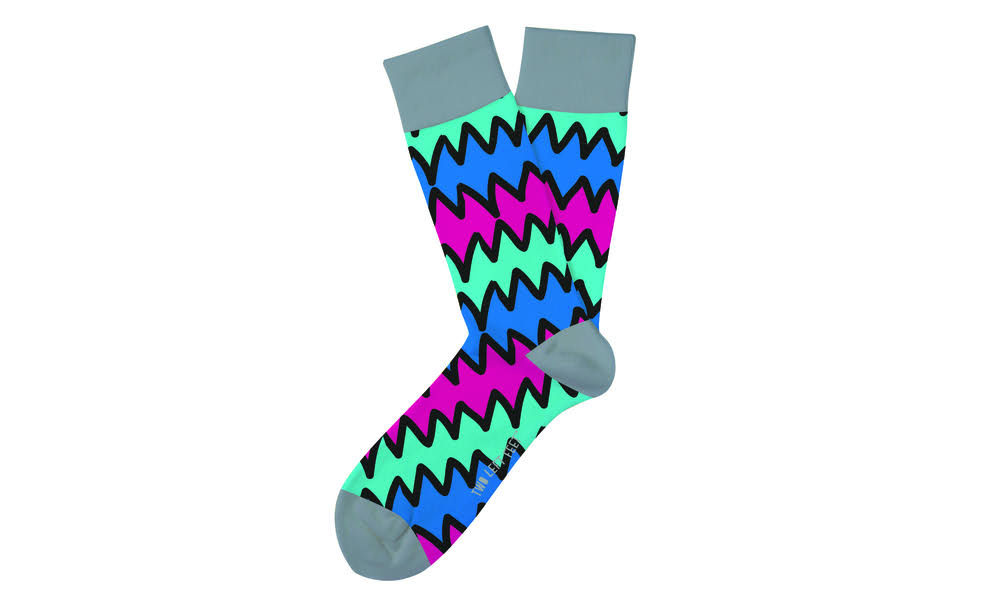 Two Left Feet Unisex Everyday Socks (36 Styles) Big Casual Shark Bite