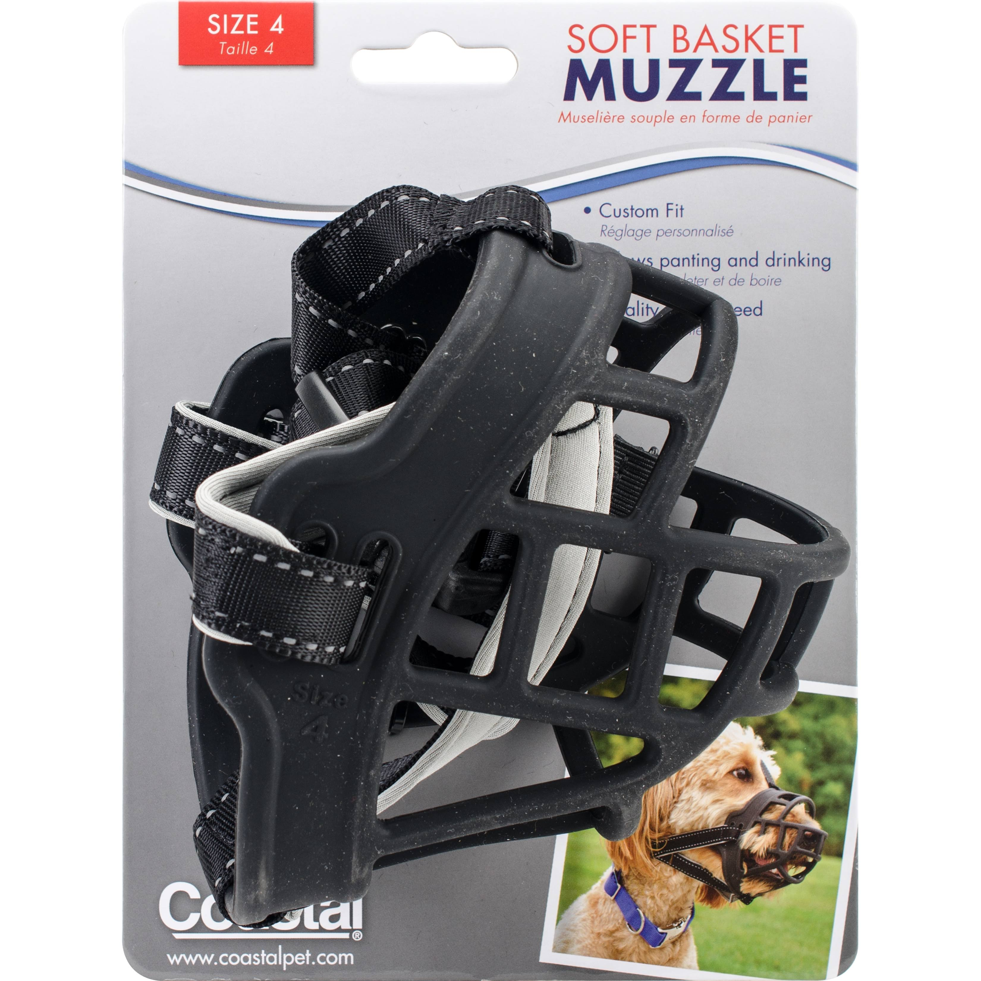 Coastal Soft Basket Muzzle