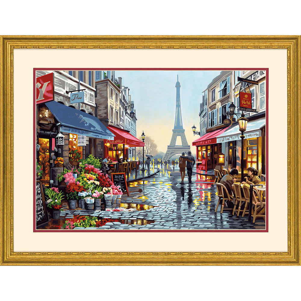 Dimensions Paint By Number Kit - Paris Flower Shop