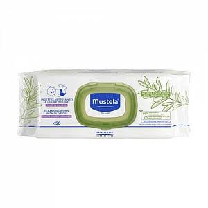 Mustela - Cleansing Wipes with Olive Oil (50 Wipes)