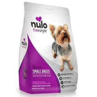 Nulo Dog Food - Small Breed, Salmon and Red Lentils Recipe