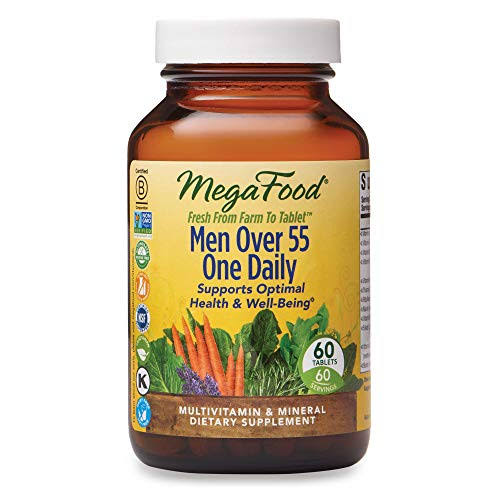 Megafood Multivitamin & Mineral, One Daily, Men Over 55, Tablets - 60 tablets