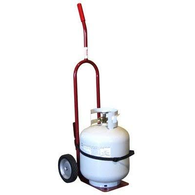"Red Dragon CD-100 Propane Cylinder Dolly - Red, 15"" x 44"""