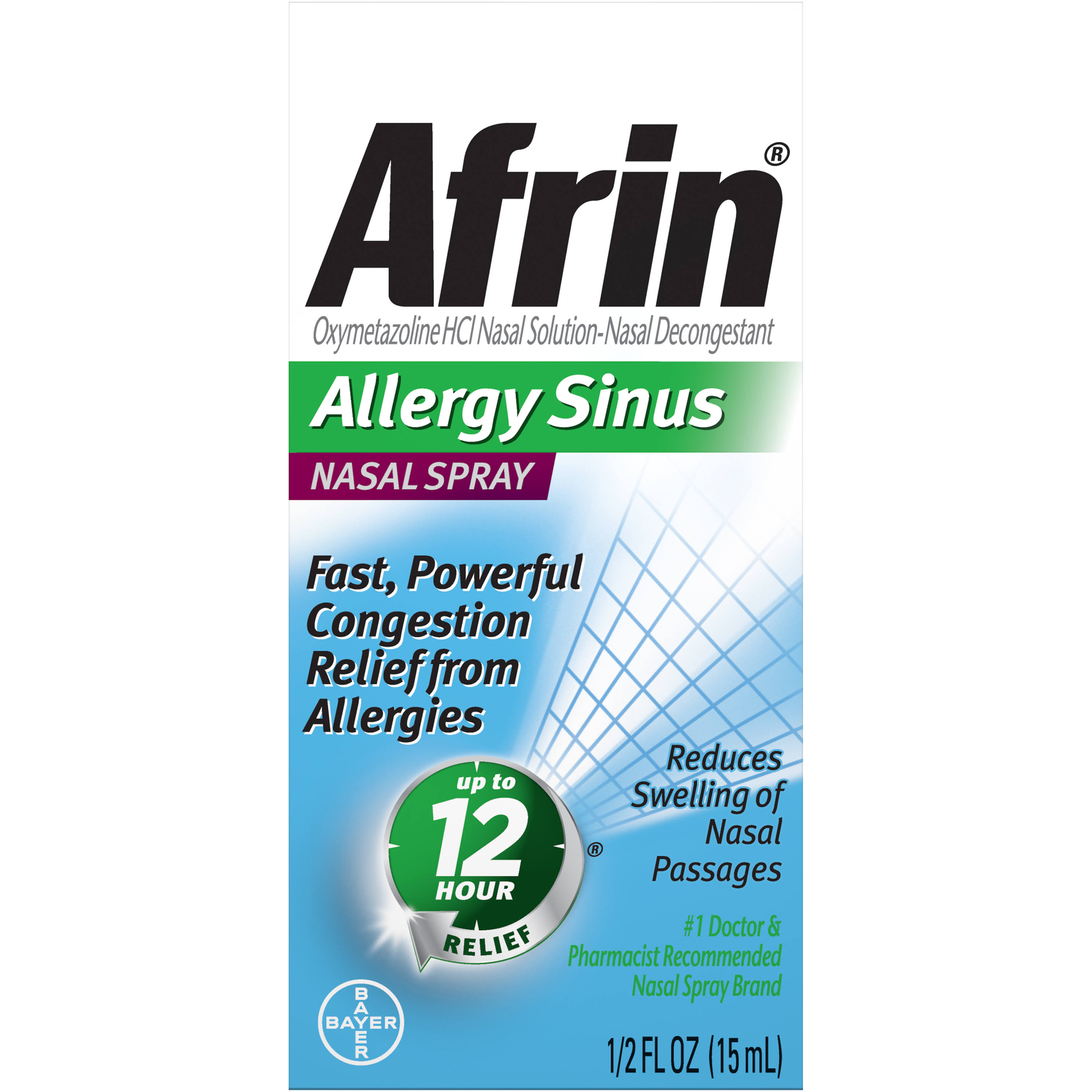 Afrin Allergy Sinus Nasal Spray - 15ml