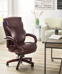 Lorell Executive High Back Chair Mesh Fabric by Executive Brown Leather Office Chairs Executive Chair