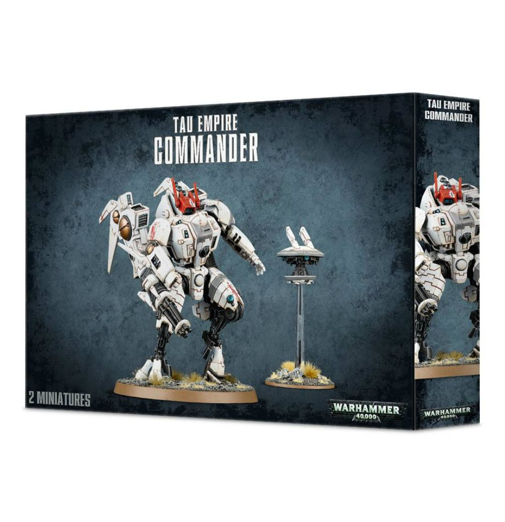 Tau Empire Commander Warhammer Games Workshop Minatures