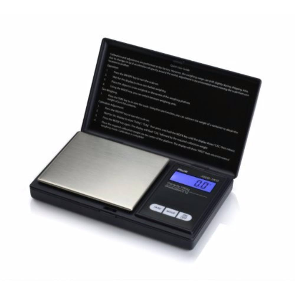 American Weigh Scales AWS-1KG Digital Pocket Scale - Black