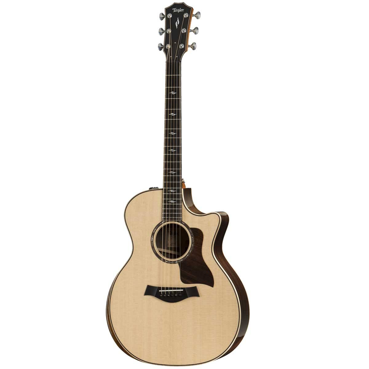 Taylor 814ce DLX V-class Grand Auditorium Acoustic Electric Guitar - Natural