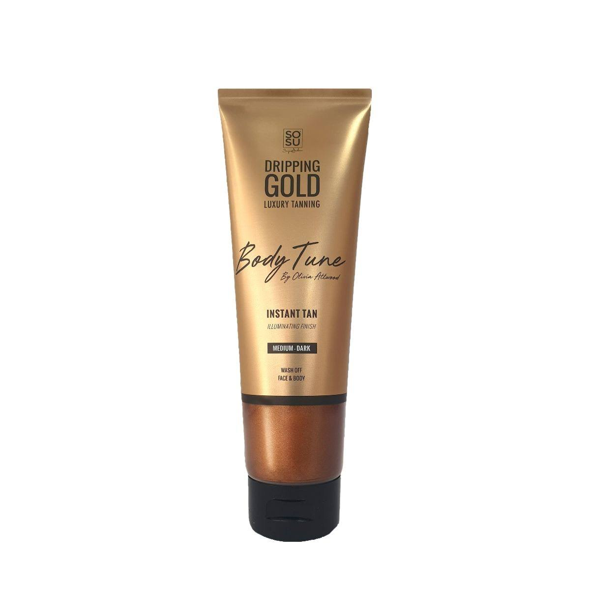 SOSU Dripping Gold Body Tune Instant Tan Medium/Dark