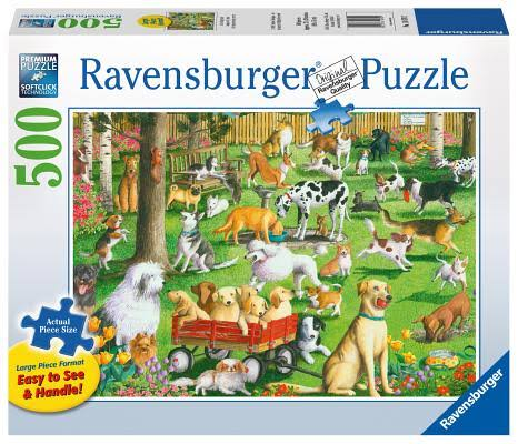 Ravensburger At The Dog Park Puzzle - 500 Pieces