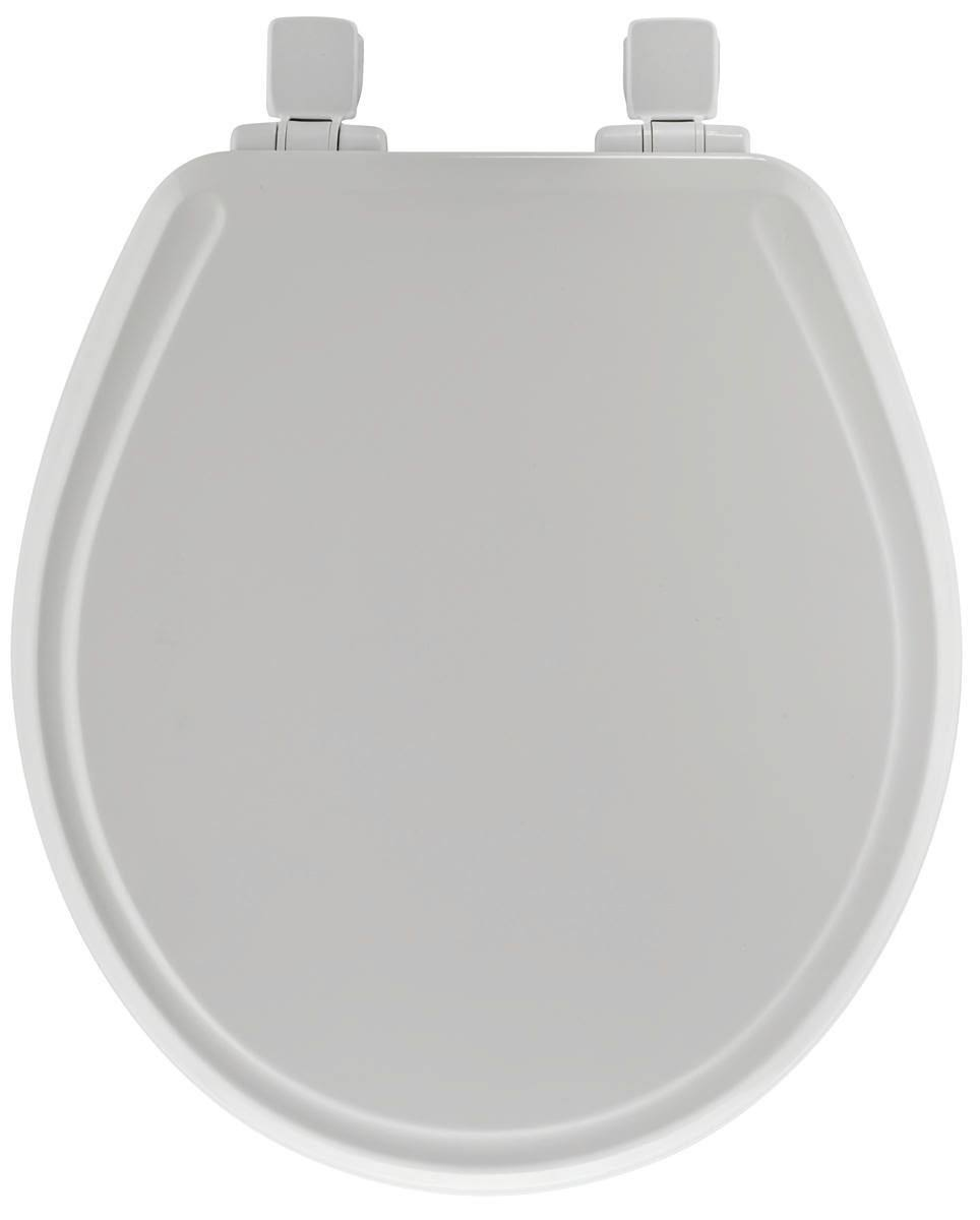 Mayfair B000TD4QLM Slow Close Elongated Toilet Seat - White