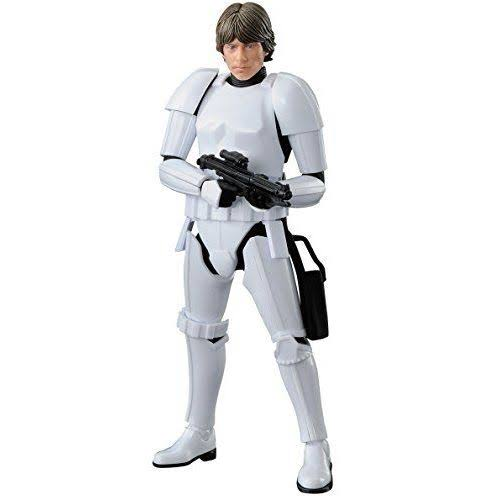 Bandai Star Wars Luke Skywalker (Stormtrooper) 1/12 Scale Model Kit